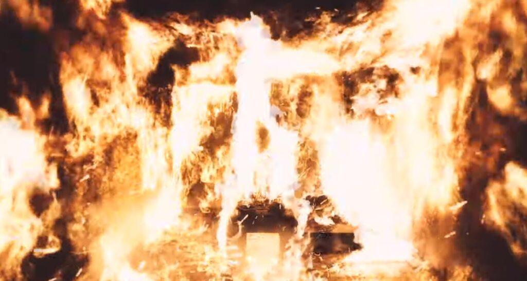 come to life kanye west burning donda album