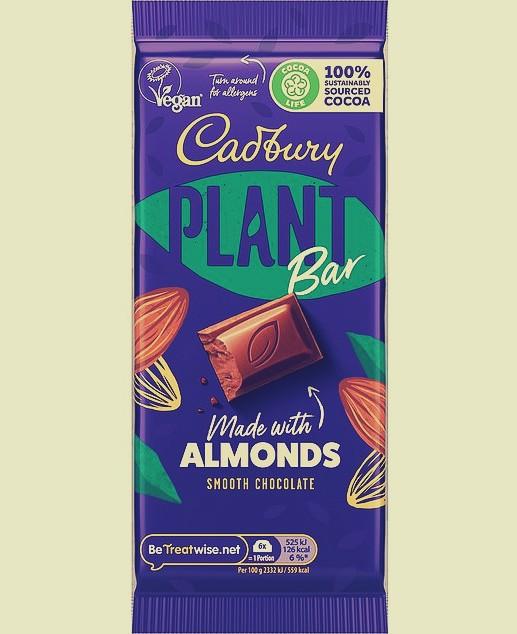cadbury vegan plant bar smooth chocolate