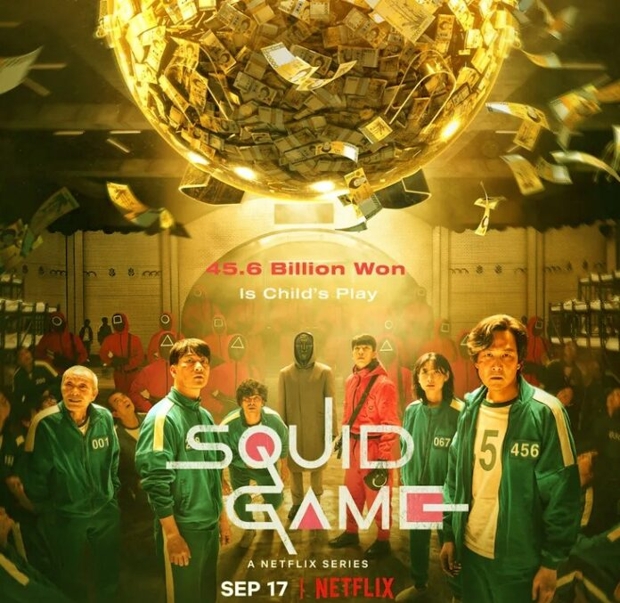 squid game most viewed show on netflix