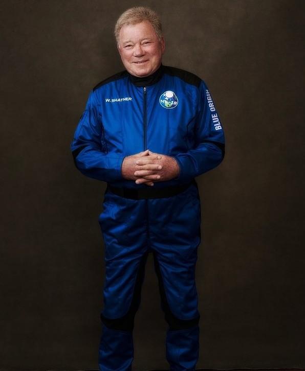 william shatner blue origin flight